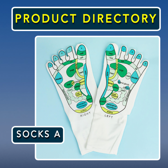 🎉Winter Sale 30% OFF - Acupressure Reflexology Socks