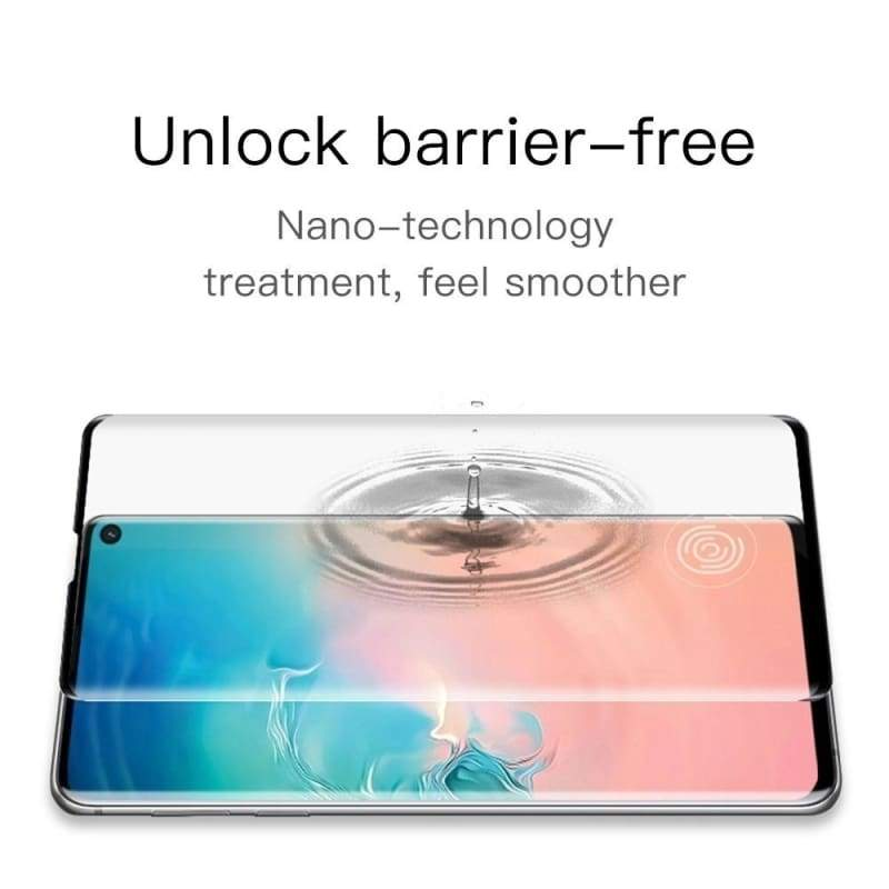 28D Curved Screen Tempered Glass on for Samsung Galaxy Note10 9 8 Note10pro S7 Edge S8 S9 S10 Plus S10E Protective Glass Film