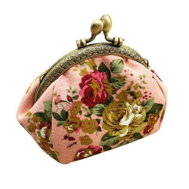 Grandmother's Vintage Style Coin Purse