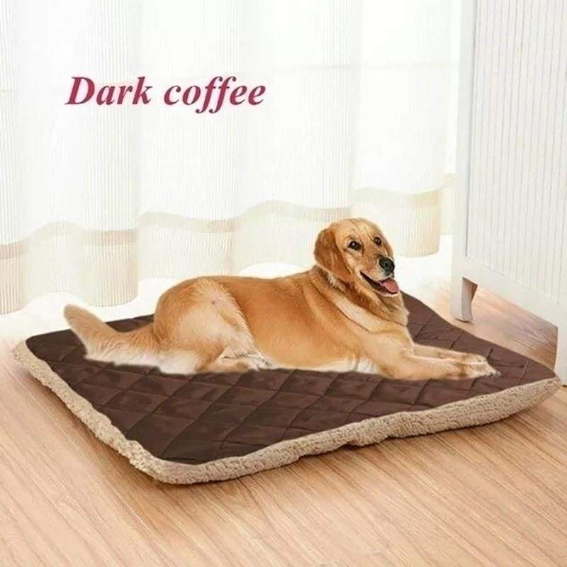 M-4XL Dog Bed Mat Pet Dogs Puppy Fleece Mat Winter Plush Bed Cat House Nest Mattress for Small Medium Large Dogs Pets