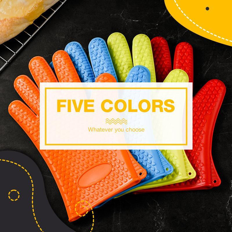 Heat-Resistant Gloves - For Cooking&BBQ