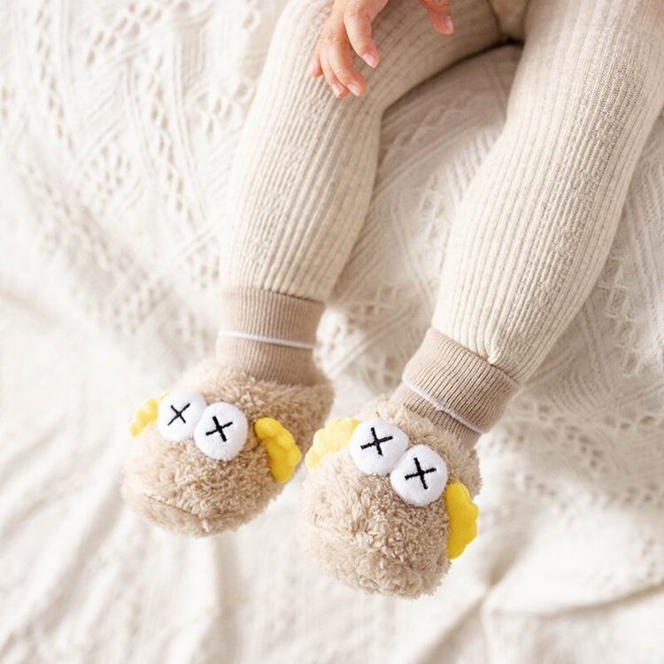 💥Buy two free shipping💥Baby Boys Girls Soft Plush Slippers