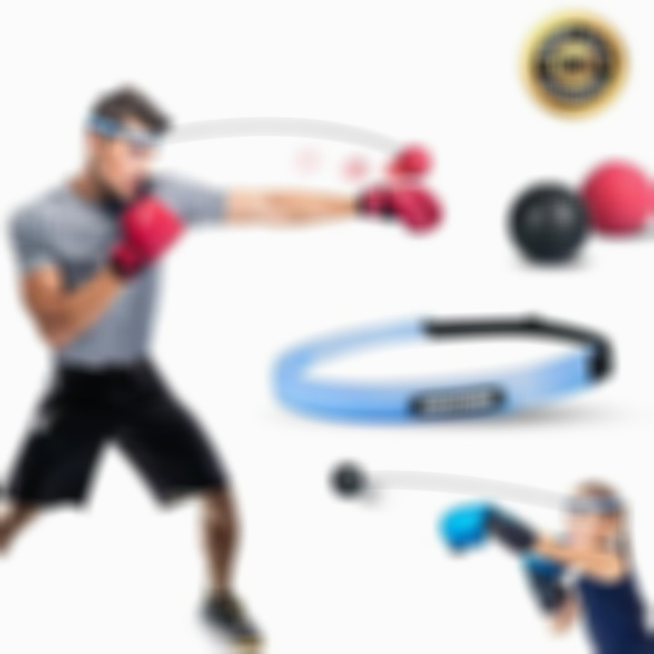(CHRISTMAS PRE SALE - SAVE 50% OFF) Boxing Reflex Ball Headband - Buy 3 Get Extra 20% OFF