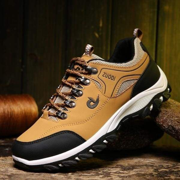 Men's Waterproof Mountainclimbing Shoes Outdoor Boots Anti-slip Hiking Boots Wear-resistant Treekking Boots(EUR:39~48)