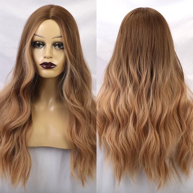 Women Wigs Lace Front Hair Yellow Hair After Bleaching Golden Blonde Clip In Hair Extensions Blond Wig Bob