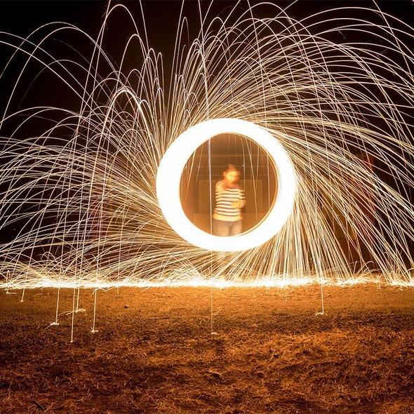 3rd Gen Rainbow Steel Wool Photography Tool