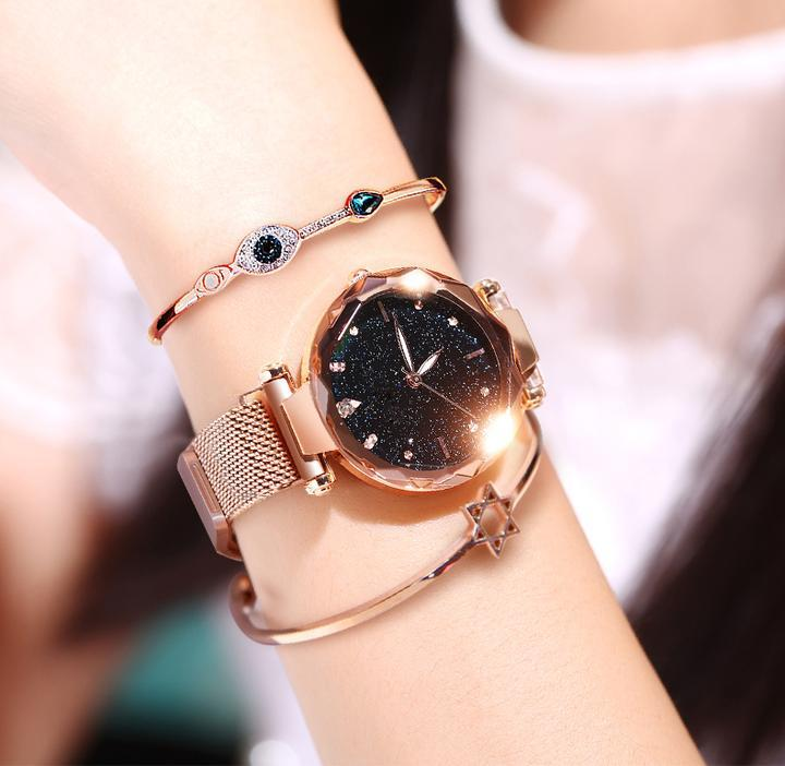 Free Shipping&80% OFF Six Colors Starry Sky Watch Perfect Gift Idea!