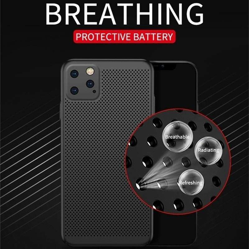 Cool Heat Dissipation Phone Case For iPhone11 Pro Max 11Pro 11 XsMax Xs Xr X