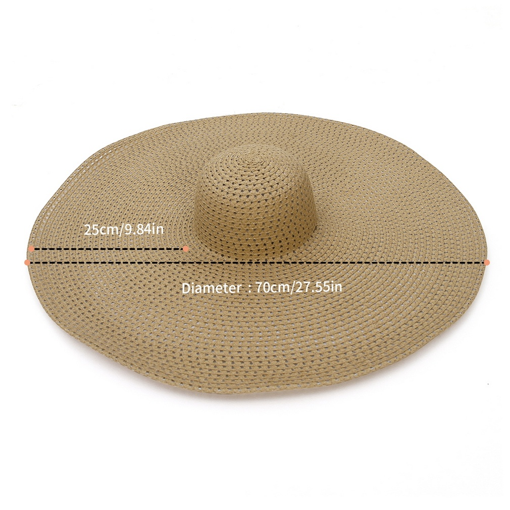 2020 Newest Ins Hot Handmade Knitted Mesh Hollow Women Big Brim Sun Hat Breathable Cool Ladies Summer Beach UV Hat Beach Hats Foldable Straw Hat