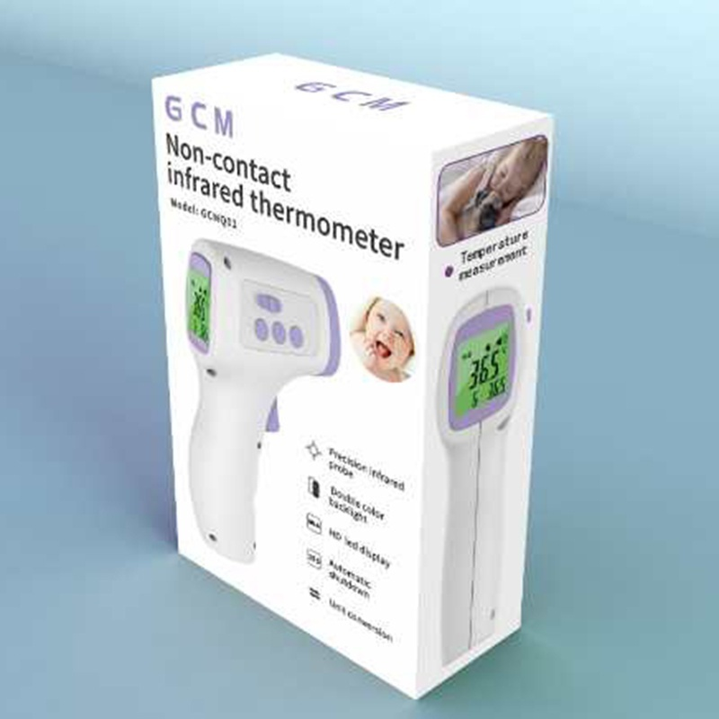 Baby /Adult Thermometer Infrared Digital LCD Body Measurement Forehead Ear Non-Contact Adult Body Fever IR Children Thermometer Device Ship immediately