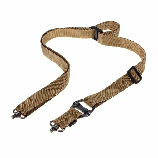 2019 Updated Tactical Mission Sling MS4 1 or 2 Point Adjustable Quick Release Paintball Strap