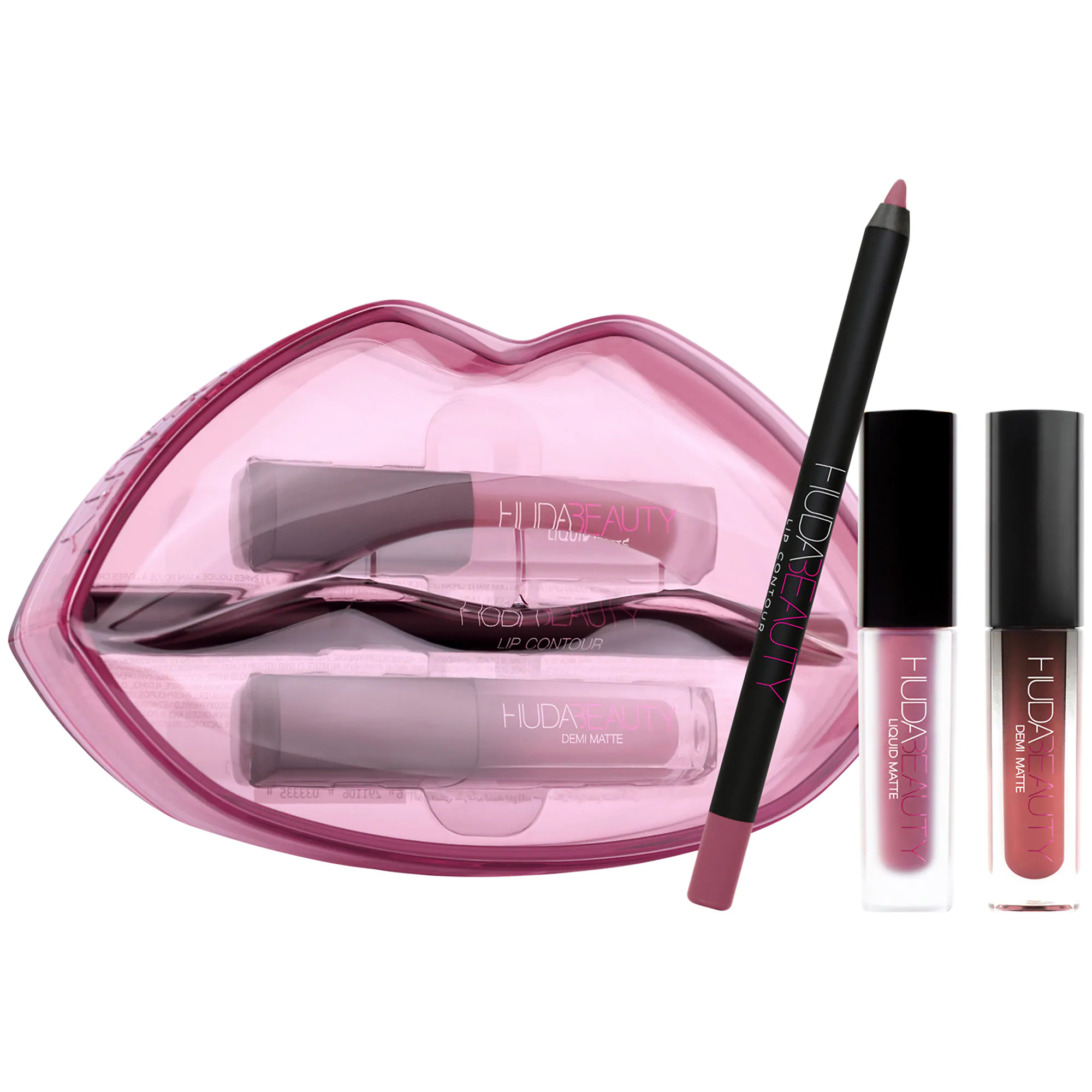 Demi Matte & Cream Lip Set