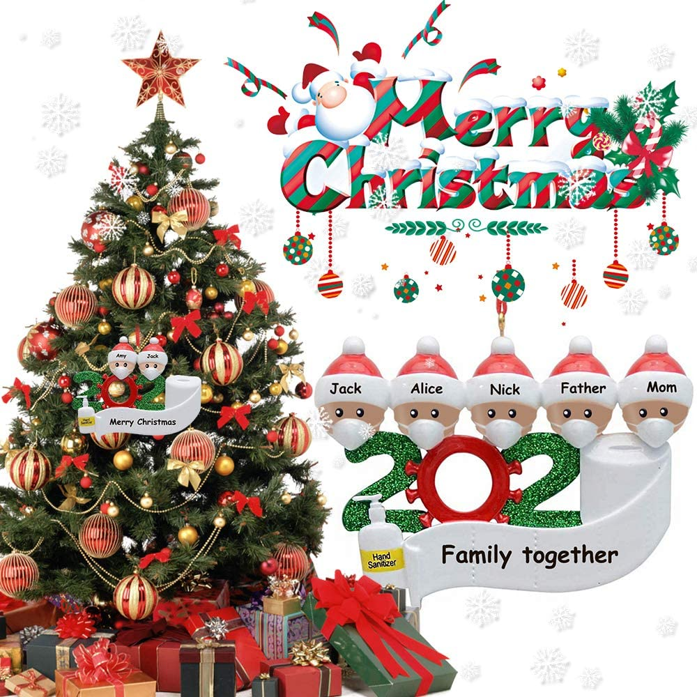 2020 DIY Family Portrait Christmas Ornament