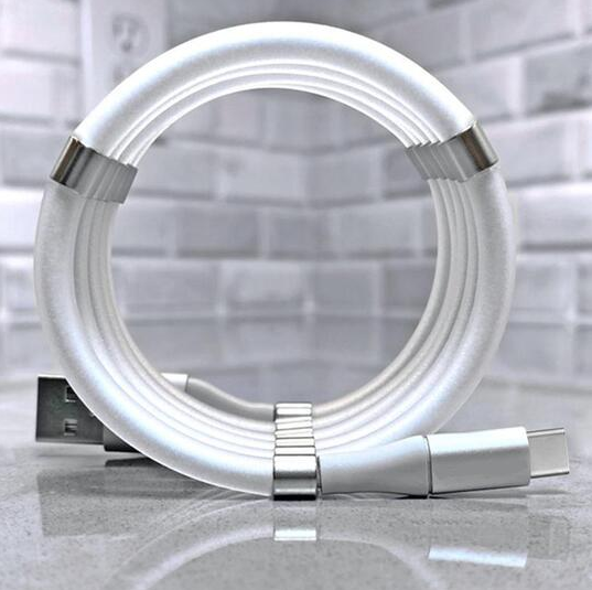 ⚡Magic Rope Fast Charging Magnetic Data Cable⚡