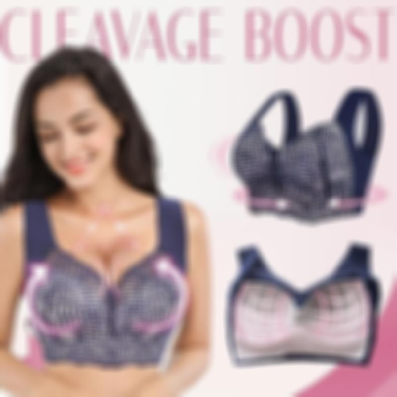 EXTRA LIFT – Ultimate Lift Stretch Full-Figure Seamless Lace Cut-Out Bra