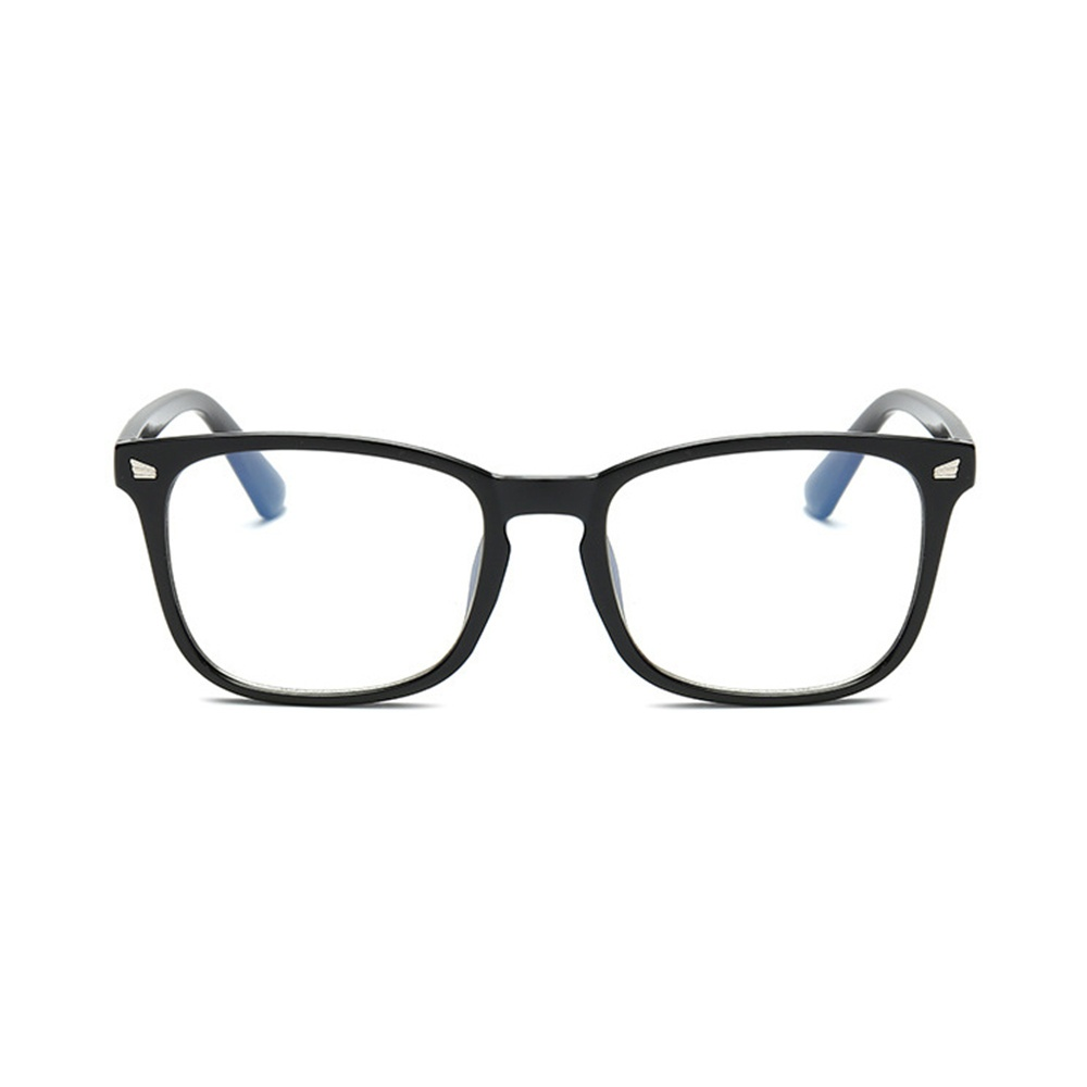 Blue Light Filter Block UV Transparent Lens Vintage Computer Glasses