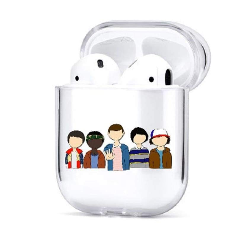 Stranger Things Airpods Case Waterproof Tpu Airpods Protective Skin Cases  For Airpods 1\/2 (Only Case)