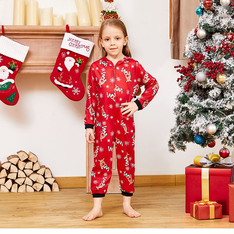 HERIN White Cotton Family Matching Pajamas Sets