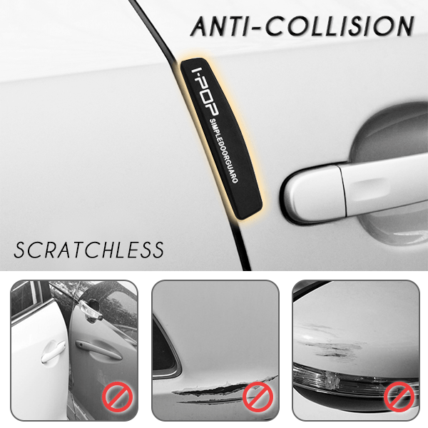 Anti-Collision Vehicle Bumper Strips