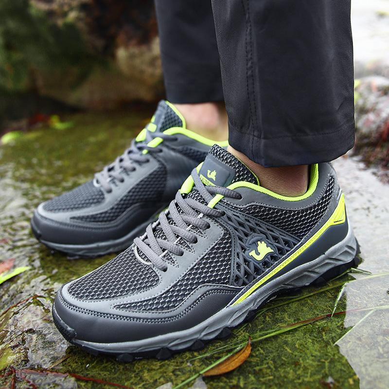Men's Breathable Mesh Outdoors Hiking Sports Sneakers