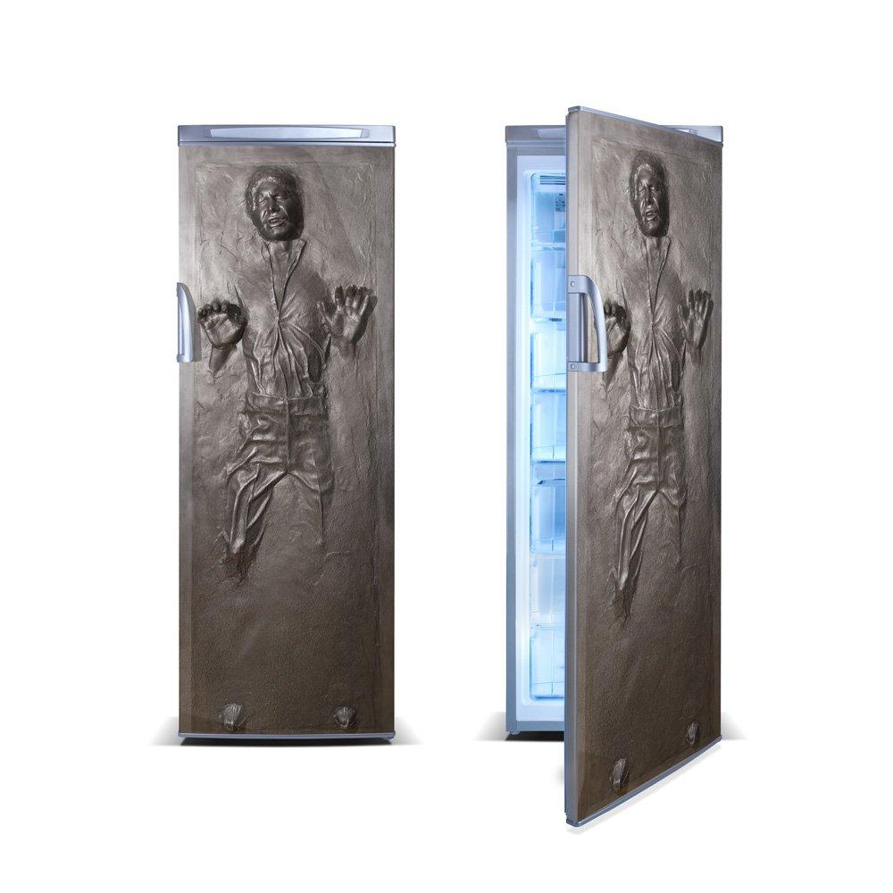 Carbonite Vinyl Sticker for Refrigerator