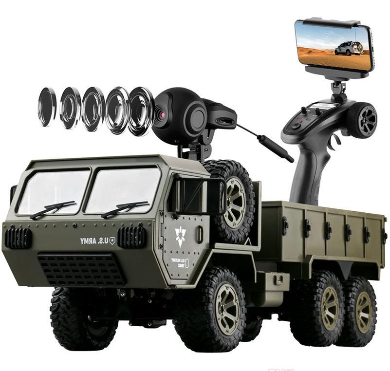 Rc Heavy Military Truck
