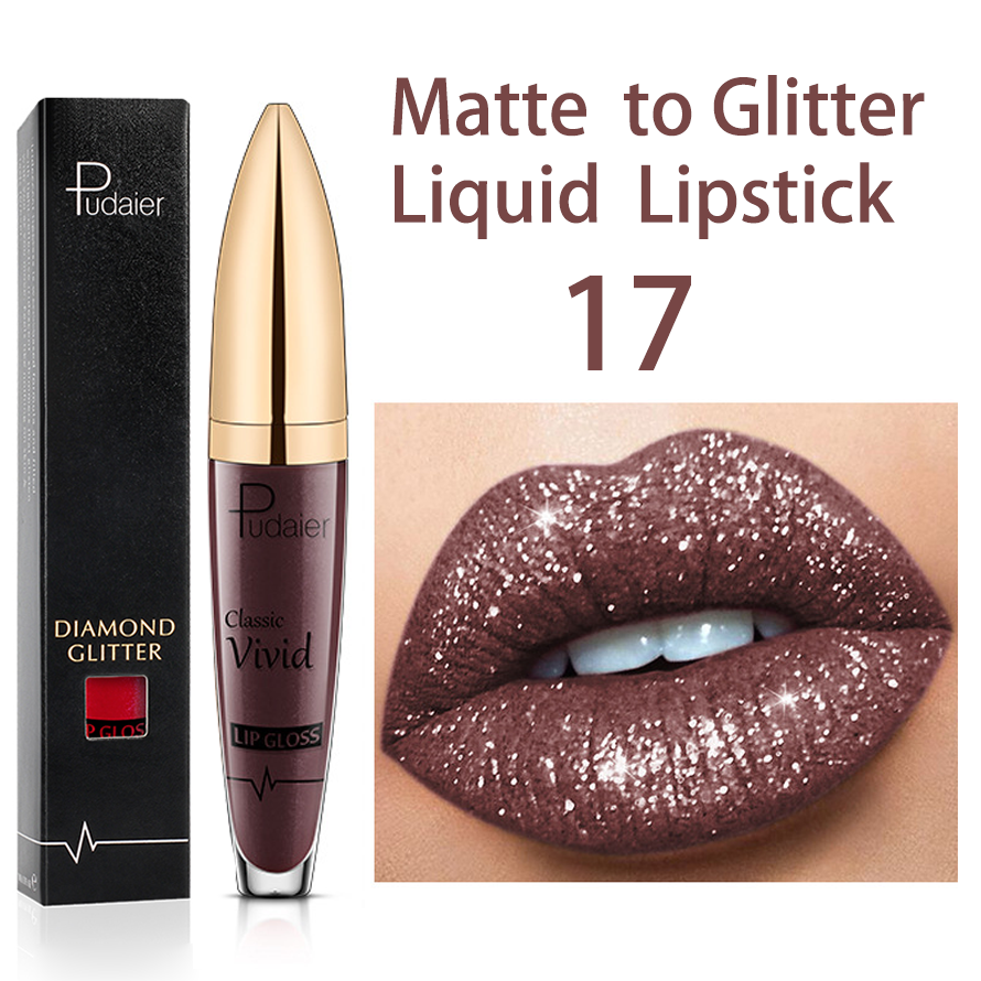 🎁Christmas Promotion🎄【50% OFF & BUY 2 GET 1 FREE】18 Color Shiny Lipstick