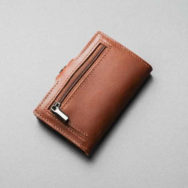 ULTRA SLIM LEATHER SPEED WALLET WITH RFID BLOCKING
