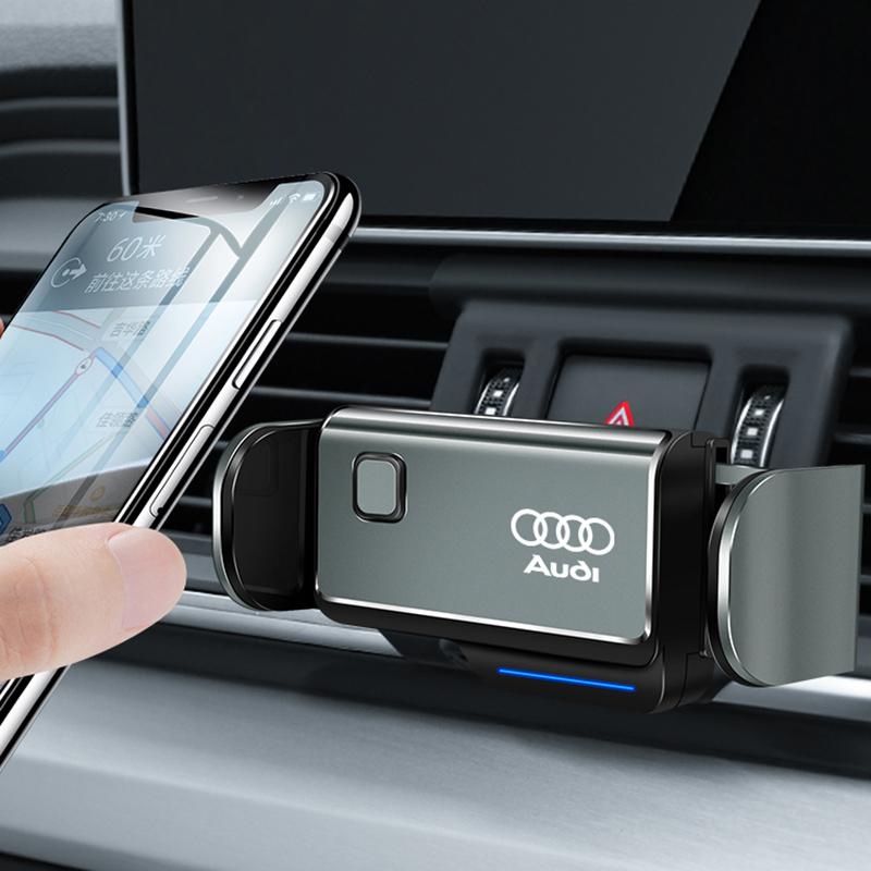 [Christmas Sale] Car Logo Touch Smart-sensing Charger Phone Mount