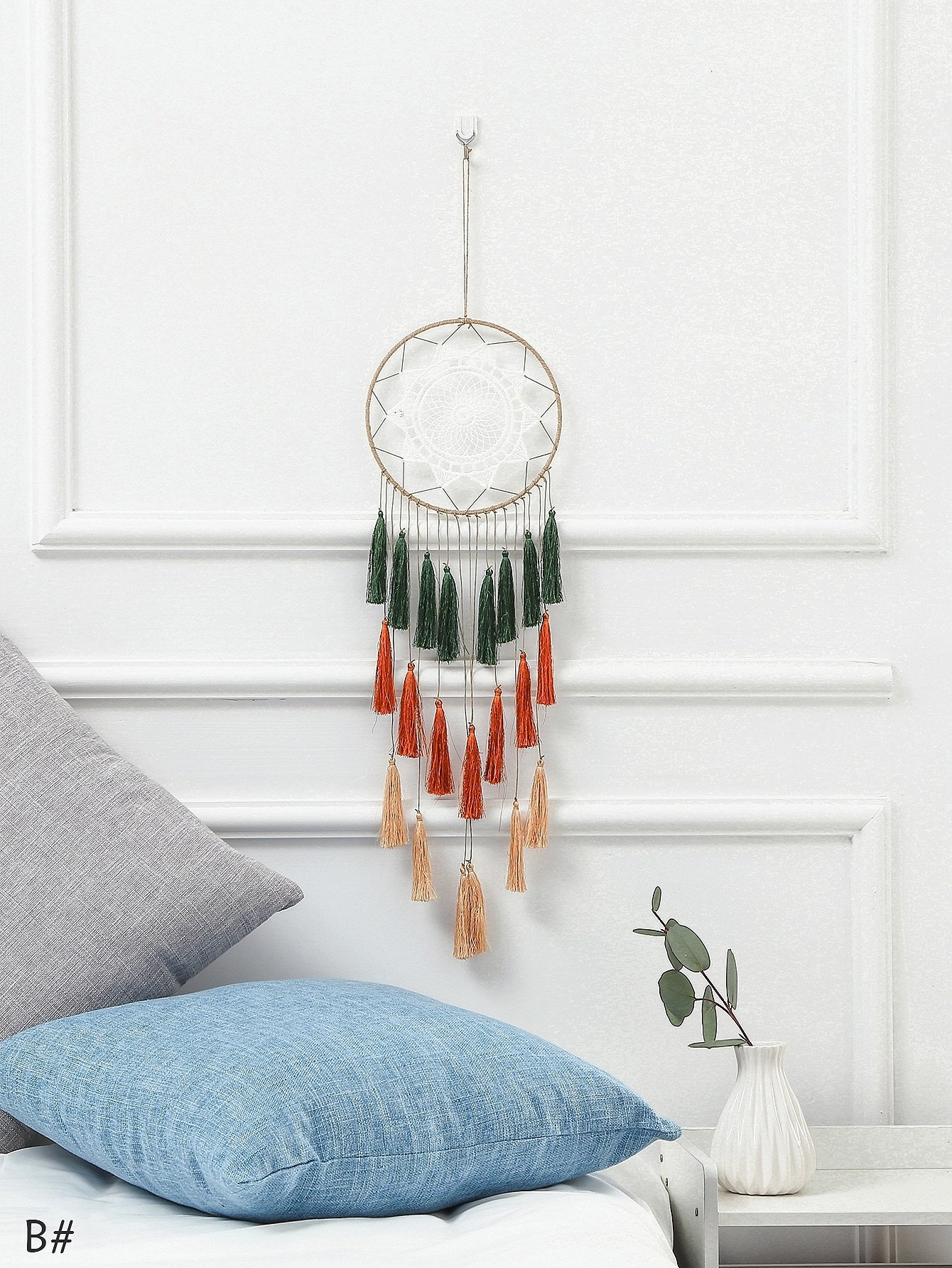 Tassel Dream Catcher Wall Hanging Decor 1pc