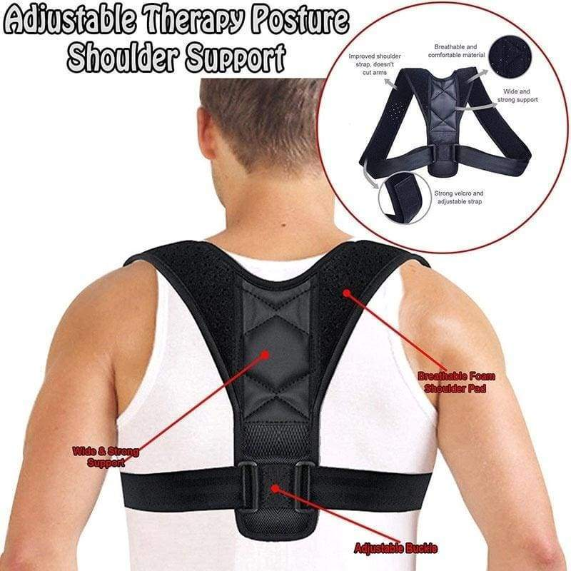 Posture Correction SBR Back Corrector New Protect Eyesight Fracture Support Decrease Waist Pain