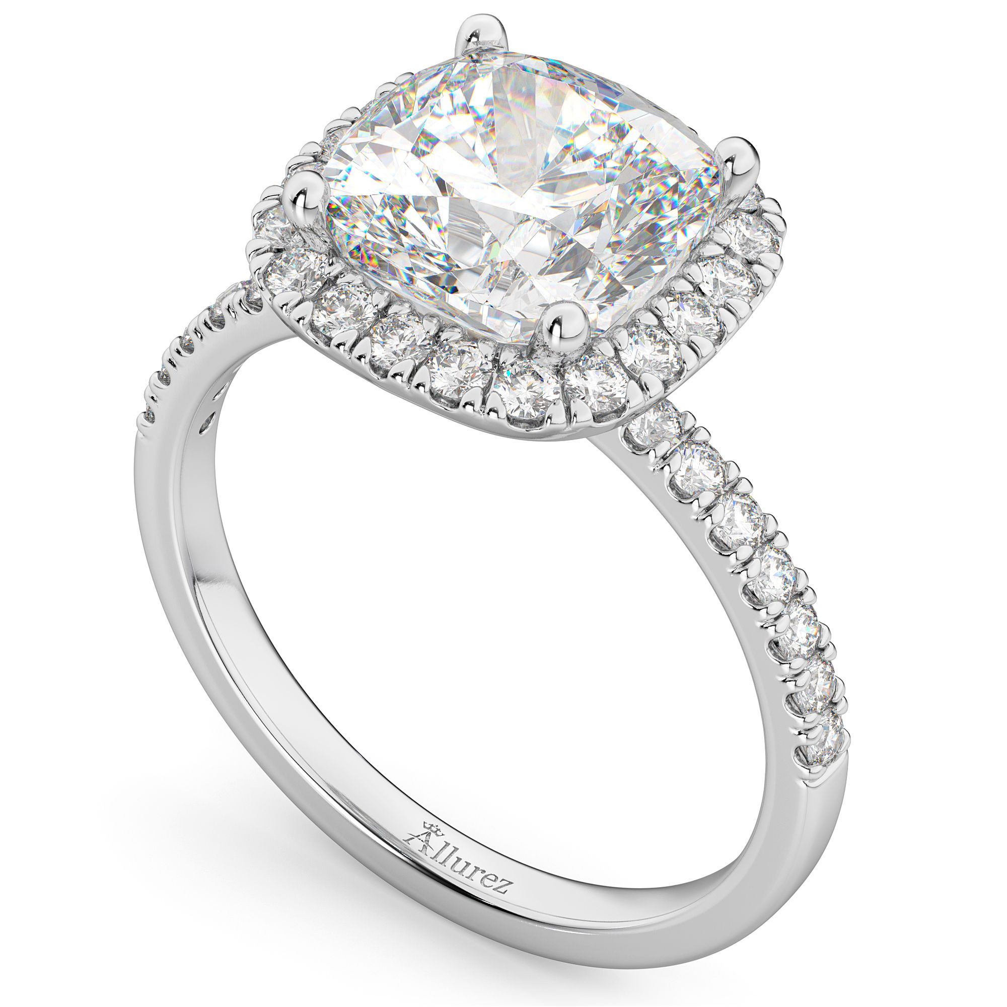 2020 New Rings For Women Unique Emerald Cut Engagement Rings Marriage Jewellery Set Platinum Solitaire Ring Jewellery Shop Near Me