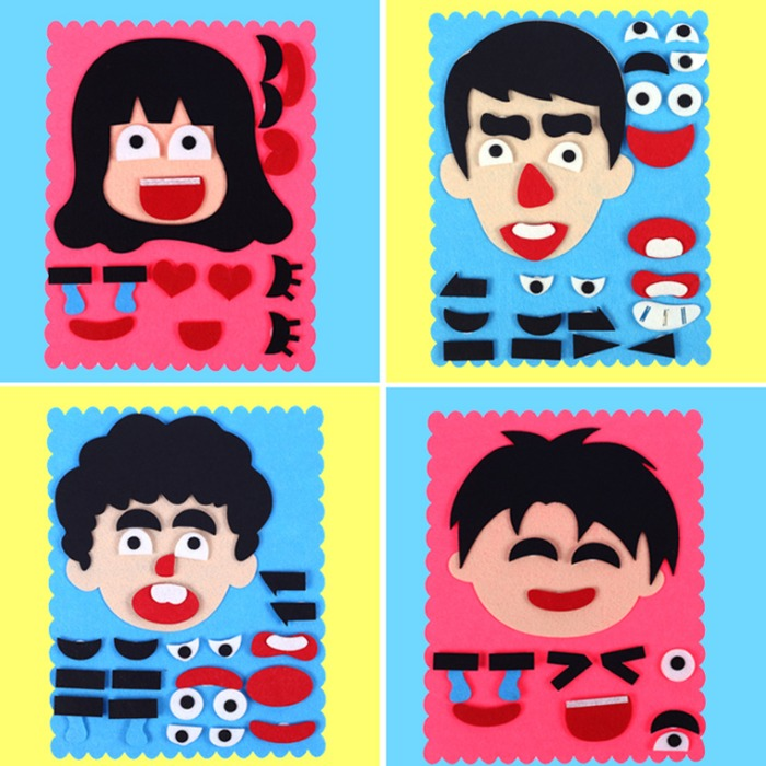 (NEW YEAR PROMOTION - SAVE 50% OFF) DIY Facial Expressions Puzzle Toys- Buy 6 Get Extra 30%OFF