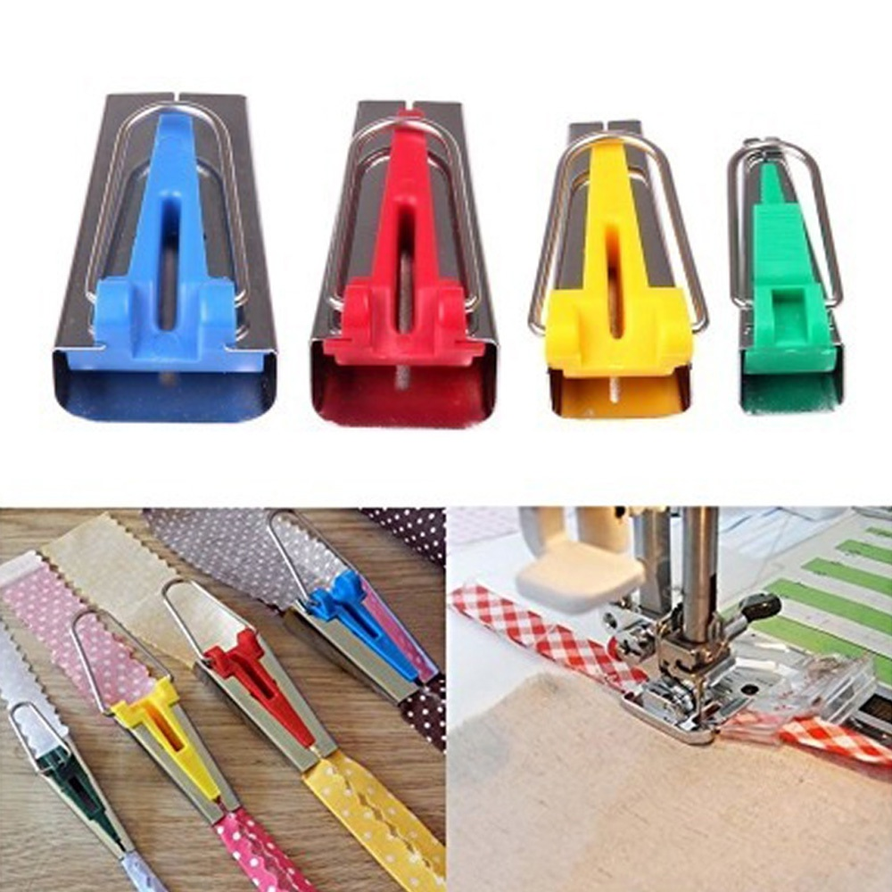 6mm\12mm\18mm\25mm Household Stitch Quilting Overlocking Splicing Cloth Tool Sewing Accessories Fabric Bias Tape Binding Maker