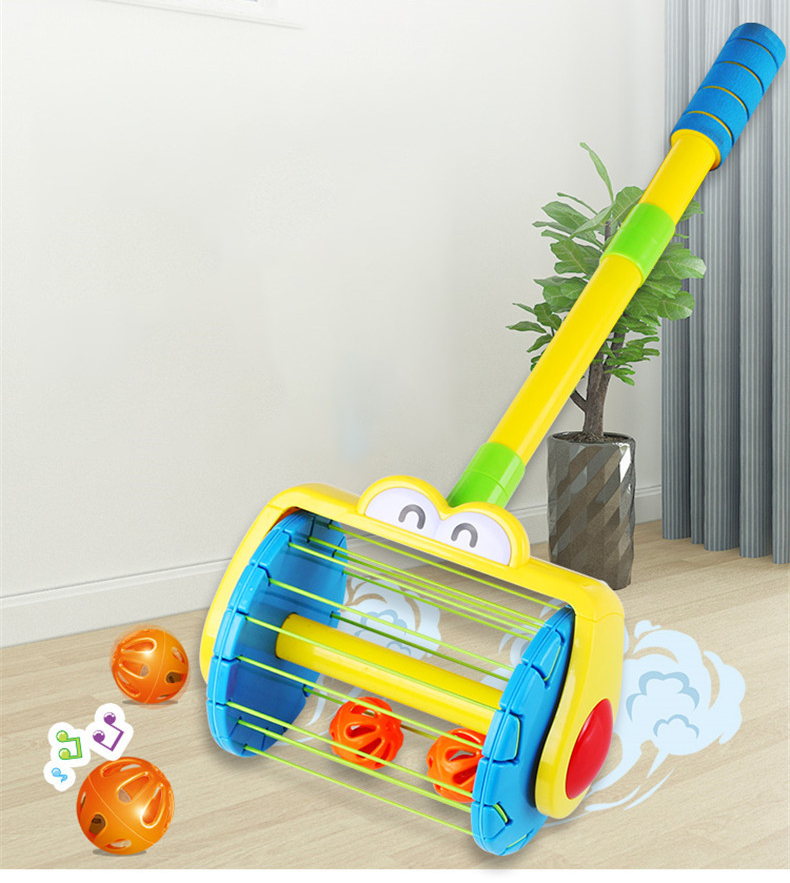 Electric Push Walker & Whirl Scoop A Ball Launcher Walker Set