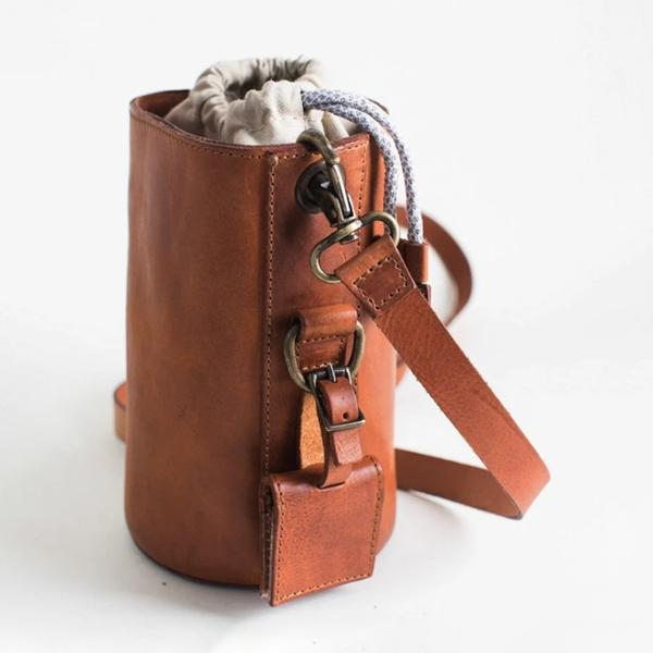Faddishshoes The Leather Lens Case Bags