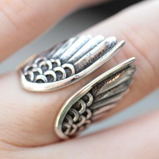 Angel Wing Silver Ring (New Year Promotion 50%OFF)
