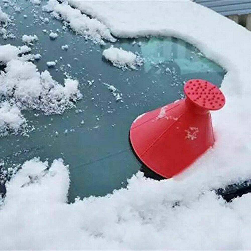 Magic Cone-Shaped Car Windshield Ice Scrapers (4PCS WITH EACH COLOR )