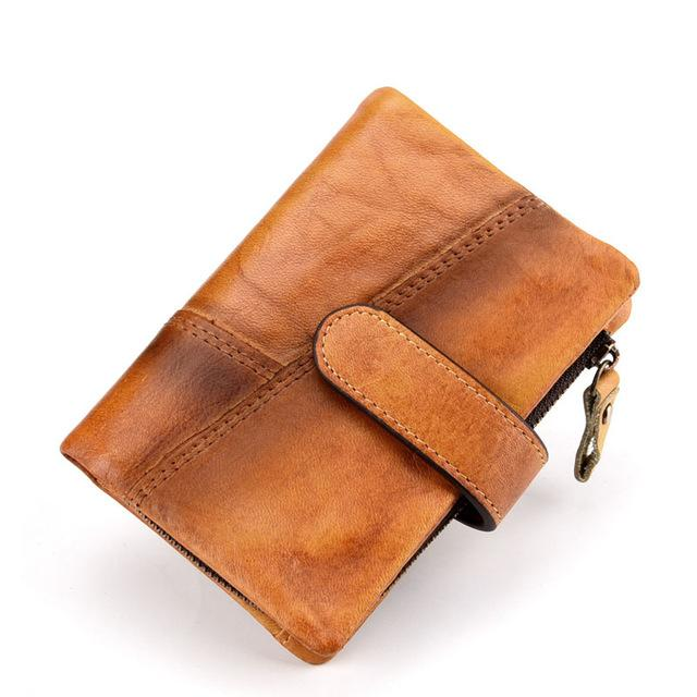 Retro Leather Unisex Wallet