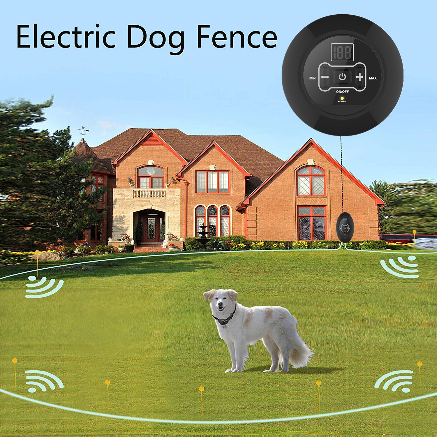 Electronic fence Pet Wireless Pet training device barking device pet supplies