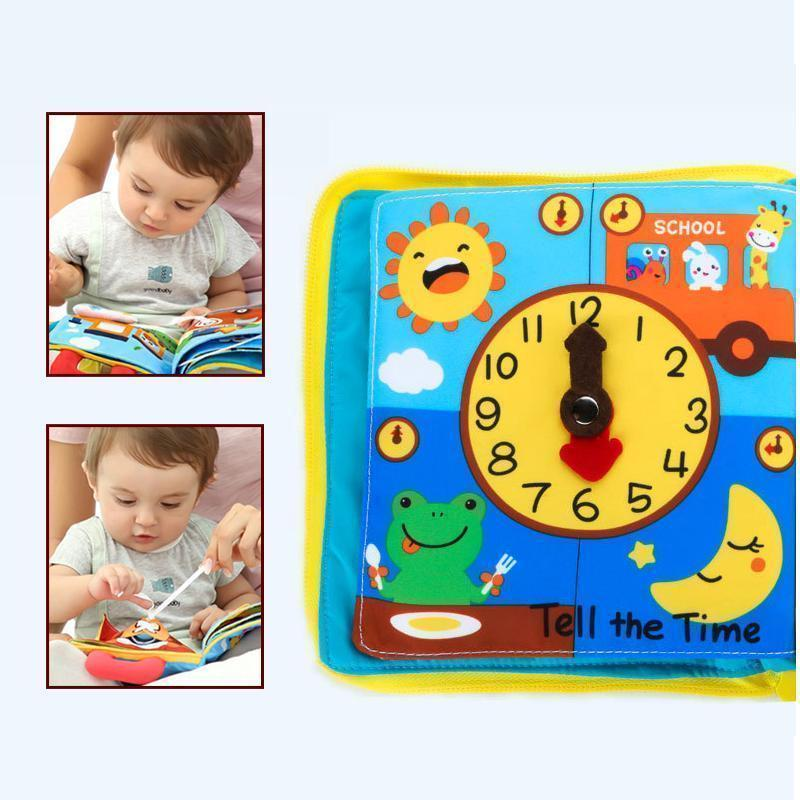 Early Education 3D Cloth Book