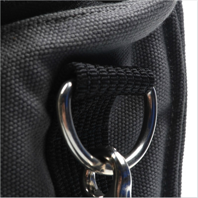 20pcs/set 25mm Metal Black & Sliver D Ring D-rings Purse Ring Buckles For Strapping withthewind