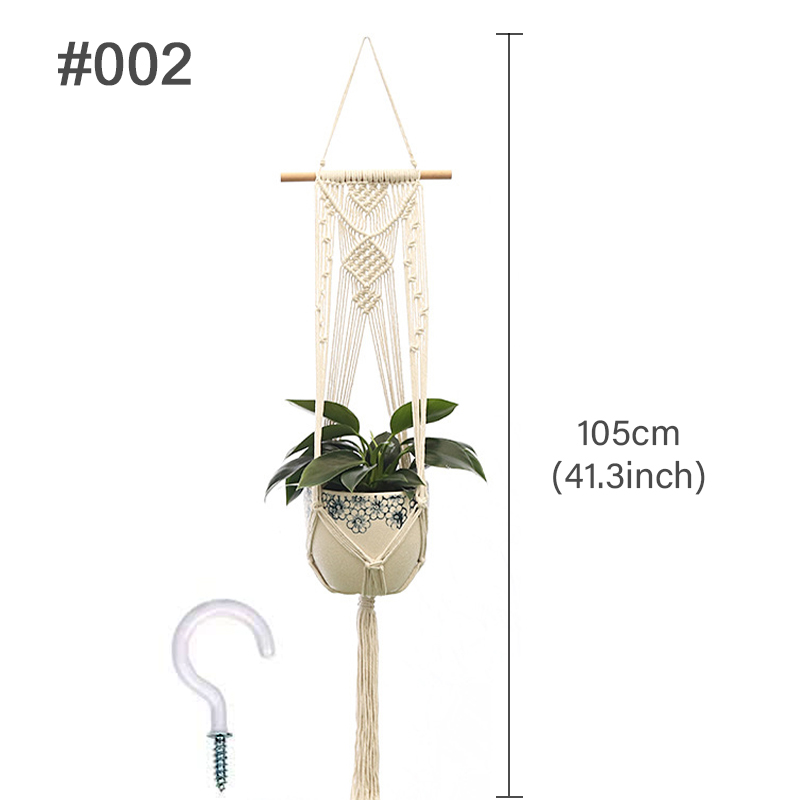 Hanging Net Of Hand-Woven Pot Plants | LIMITED STOCK