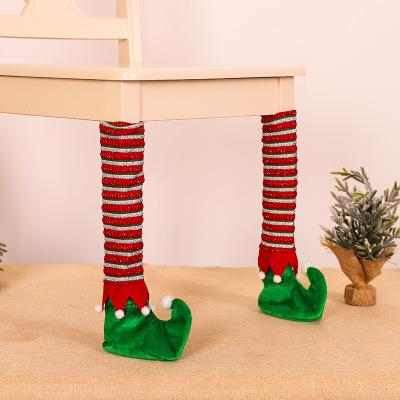 【🎄Quarterly discount - Welcoming christmas🎄】Christmas Table Feet Cover