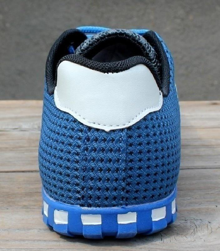 Men's Casual Breathable Mesh Flat Shoes Exercise Jogging Sports Shoes Footwear Sneakers