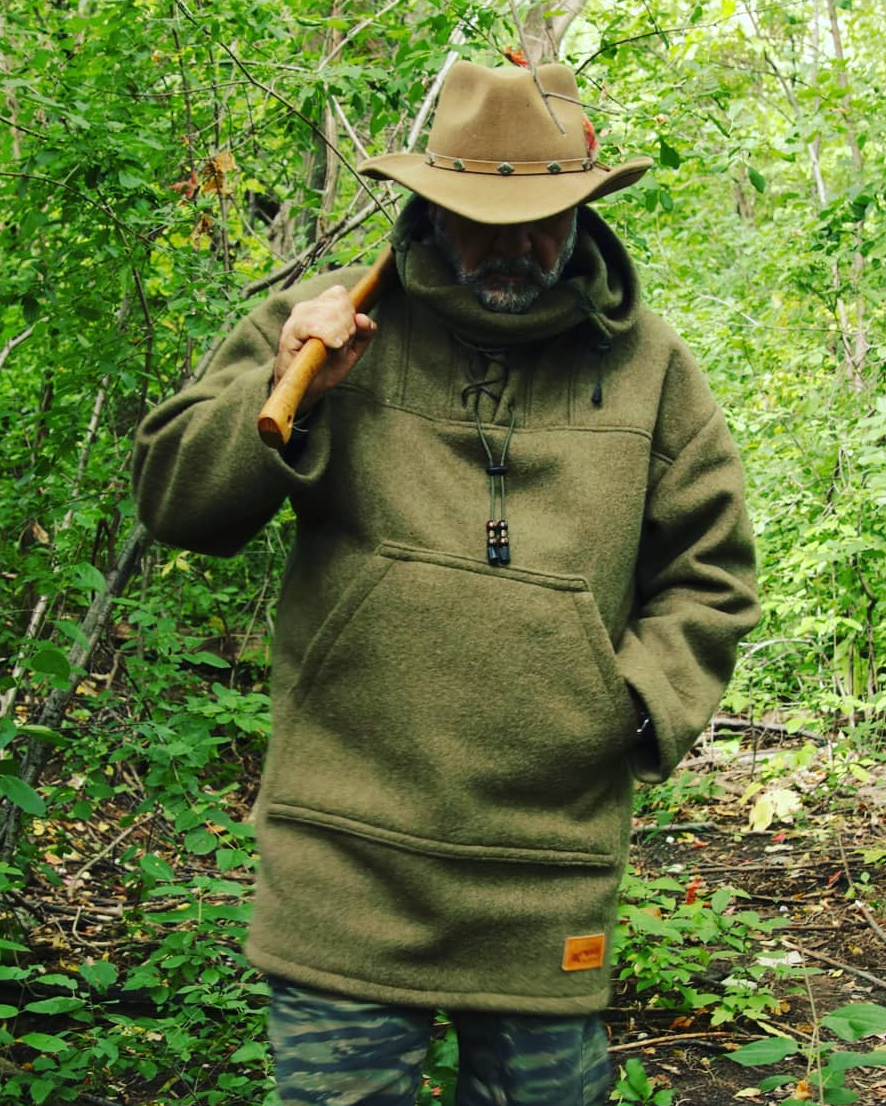 (HOT NEW PRODUCT)🔥- Boreal Mountain Wool Anorak