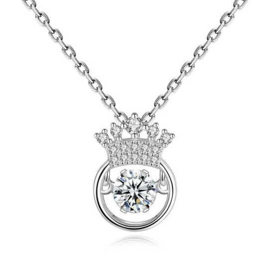(🎄Early-Christmas Flash Sale🎄-48% OFF) Crown Sparkling Dance Necklace