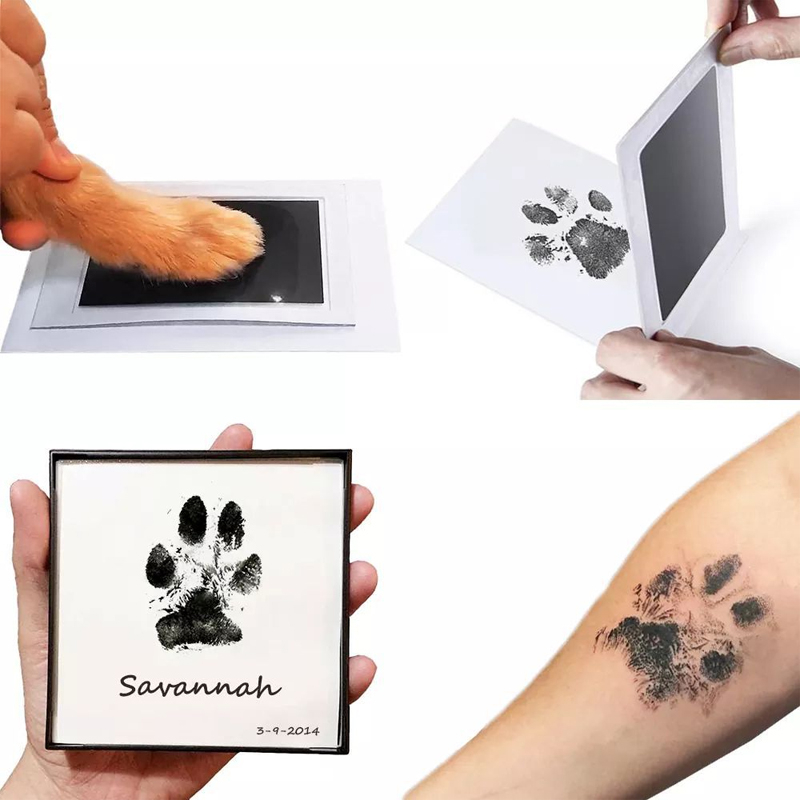 Clean Touch Inkless Baby Handprint and Footprint Ink Pad Kit