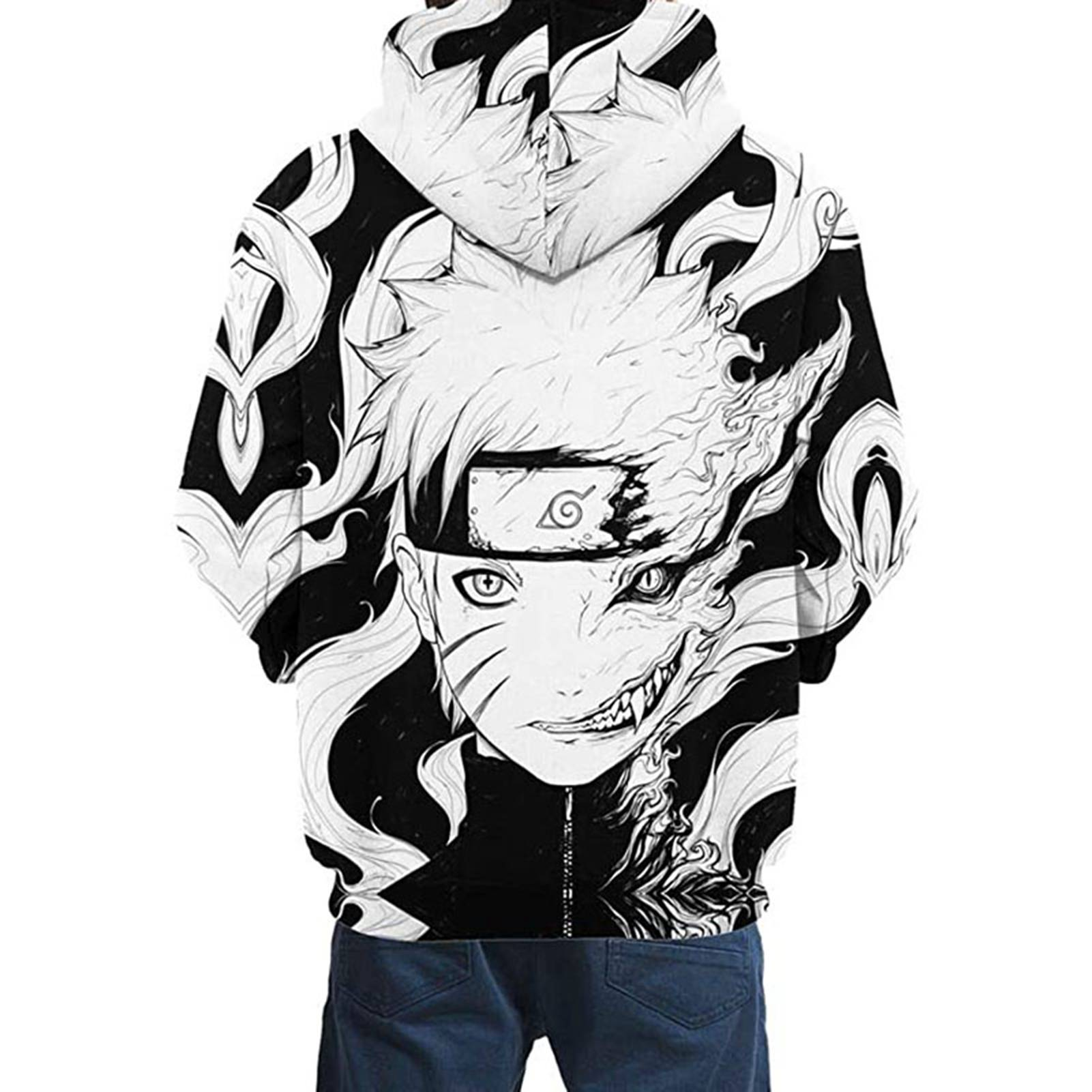 Hoodies For Kids,naruto Cosplay Costume Printing Hooded Sweatshirt Autumn Winter Long Sleeve Hoodie