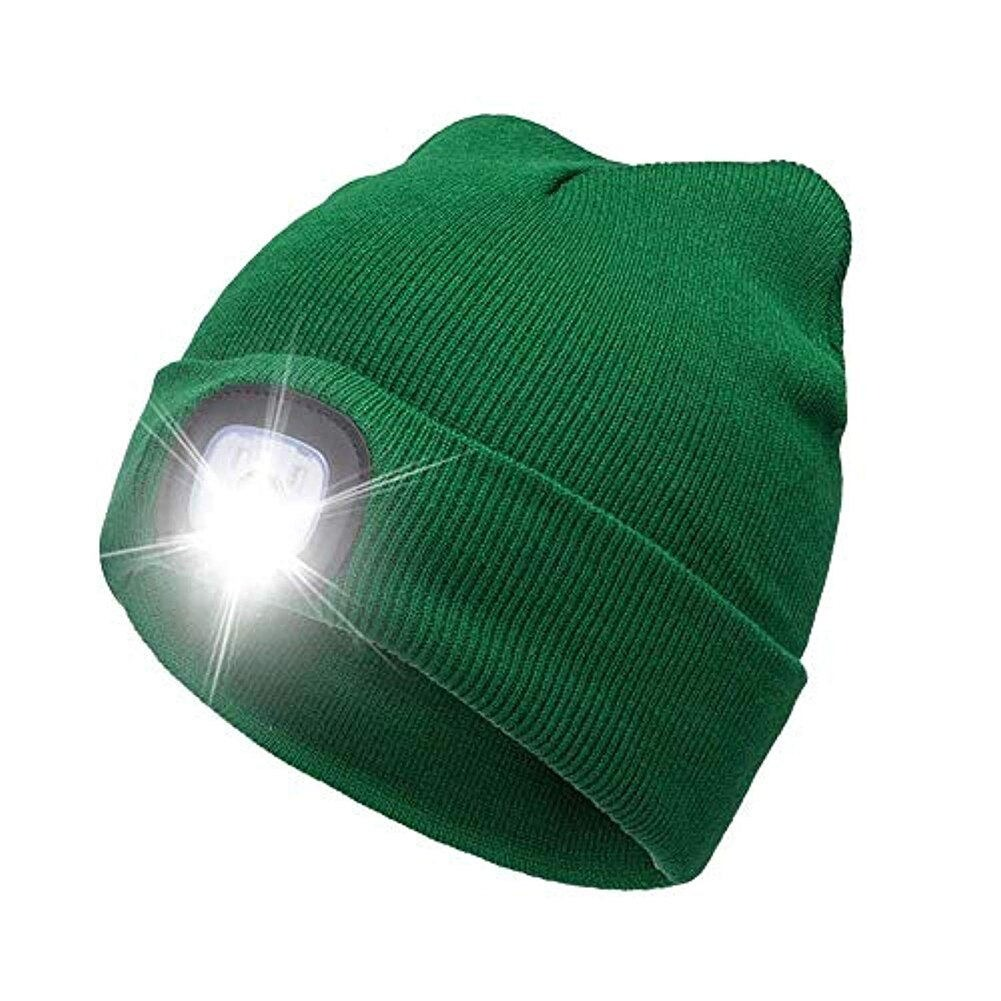 (2021 NEW YEAR PROMOTION-SAVE 50%OFF) LED Lighted Beanie Hat - Buy 2 Get Extra 10%OFF